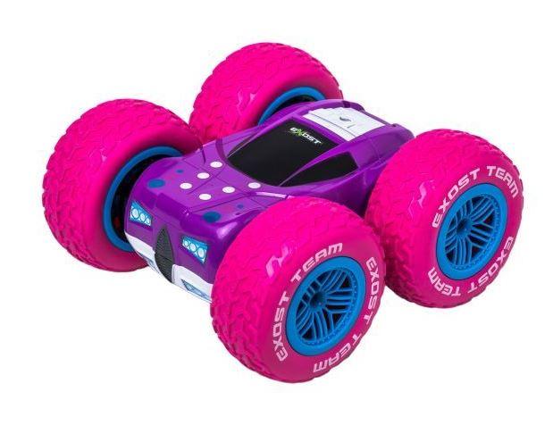 картинка Машинка на радиоуправлении – 360 Cross. 1:18, розовая от магазина Bebikam.ru