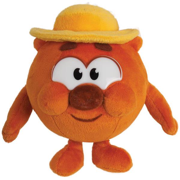 Озвученная мягкая игрушка - Копатыч из мультфильма Смешарики, 10 см
