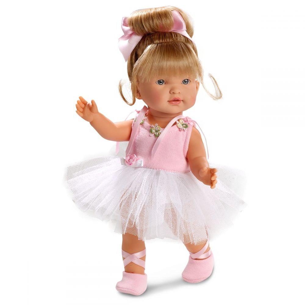 Кукла балерина Валерия, 28 см.Испанские куклы Llorens Juan, S.L.<br>Кукла балерина Валерия, 28 см.<br>