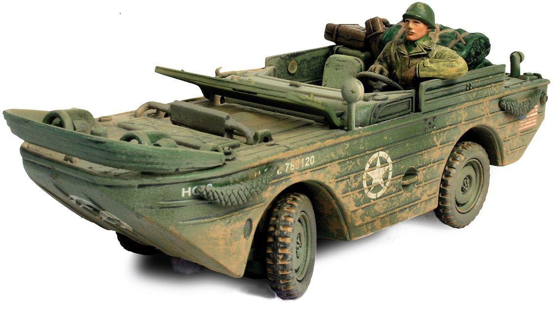 Коллекционна модель – американский военный автомобиль-амфиби , Норманди, 1944, 1:32Военна техника<br>Коллекционна модель – американский военный автомобиль-амфиби , Норманди, 1944, 1:32<br>