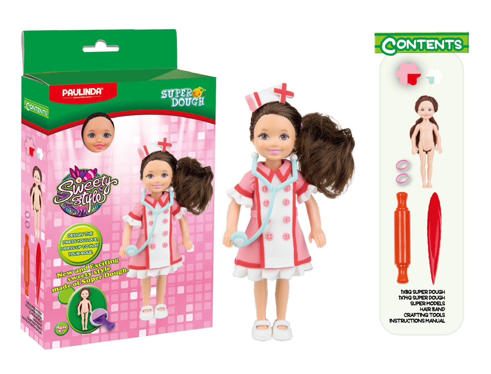 Масса для лепки - Создай свой стиль, для создания наряда куклыНаборы для лепки<br>Масса для лепки - Создай свой стиль, для создания наряда куклы<br>