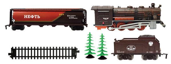 Купить Железная дорога - Голубая стрела, паровоз, тендер, цистерна