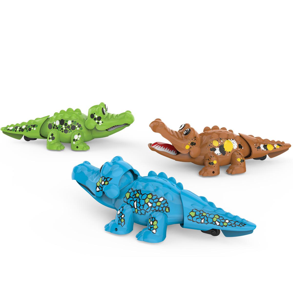 Аква крокодильчикИнтерактивные игрушки для ванны<br>Аква крокодильчик<br>