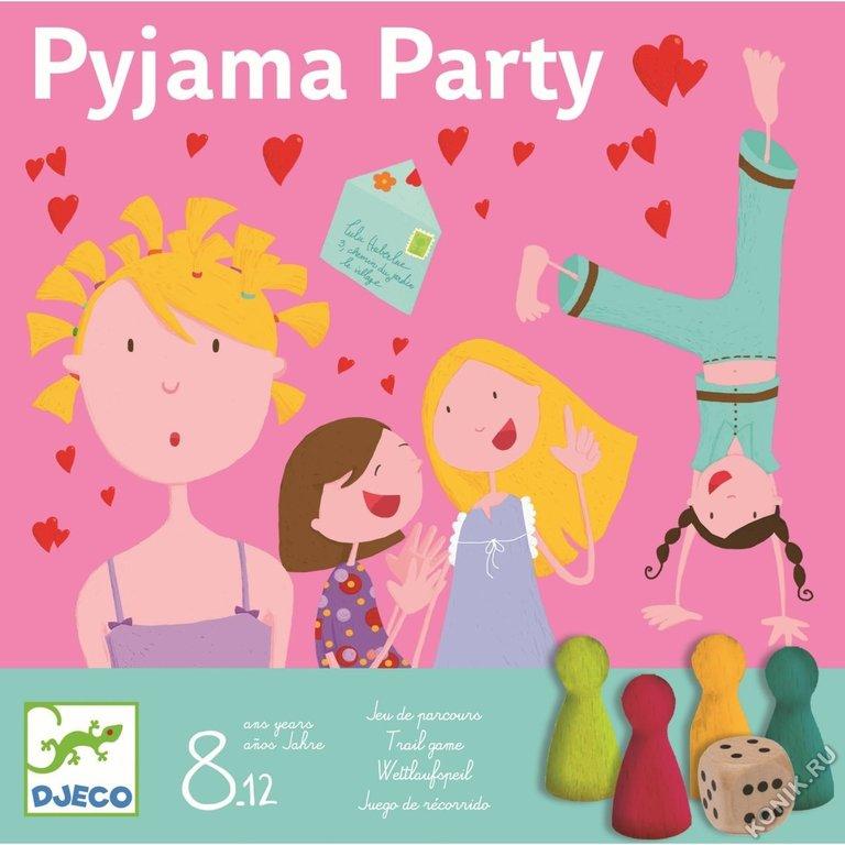 Игра настольная - Пижамная вечеринка, с фишками фото