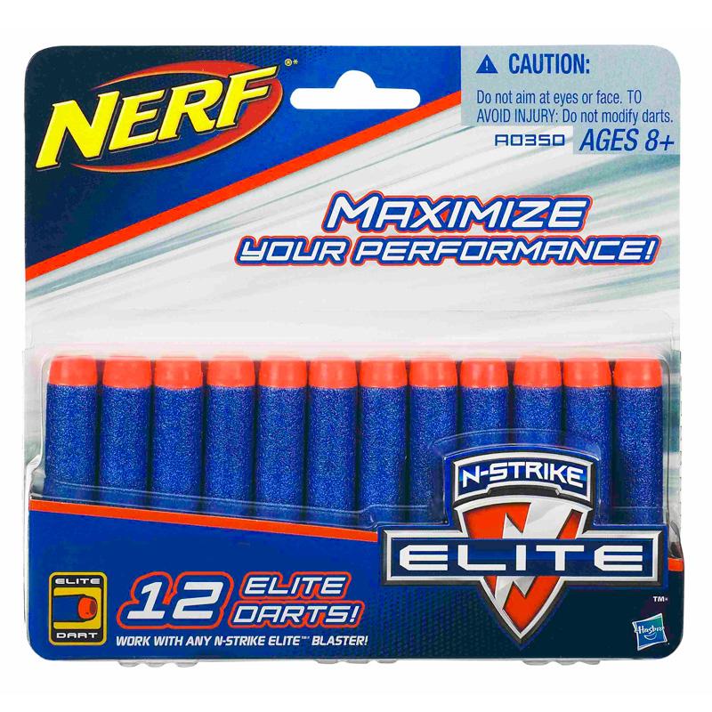 Купить Стрелы для бластеров Nerf, 12 штук, Hasbro