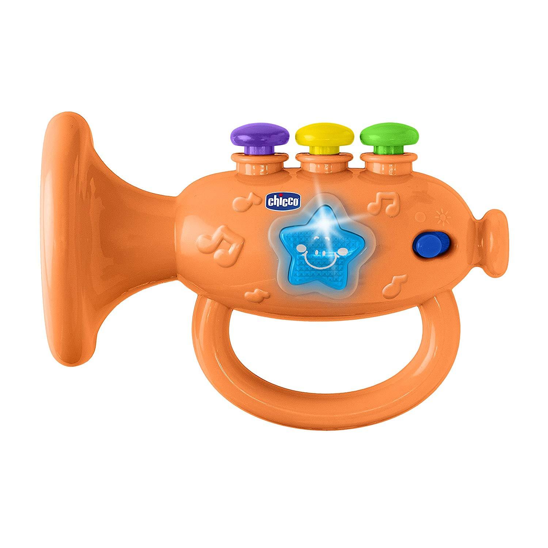 Купить Музыкальная игрушка – Труба, свет и звук, Chicco