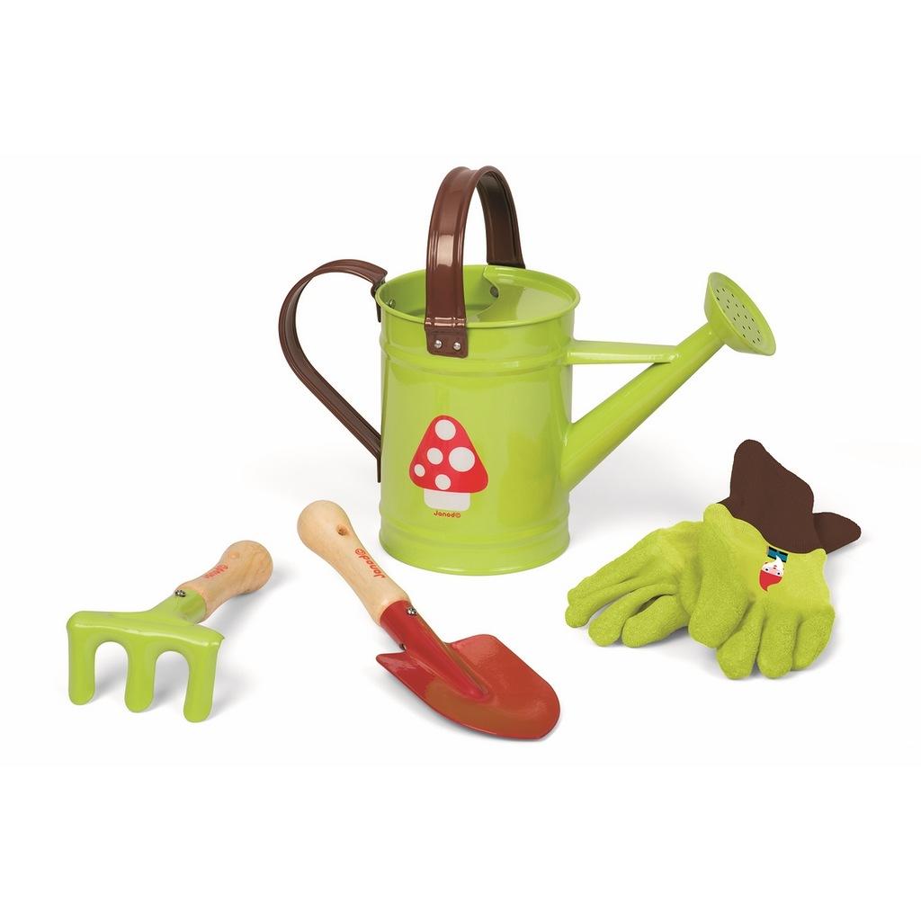 Набор - Маленький садовник, зеленыйЮный садовод<br>Набор - Маленький садовник, зеленый<br>