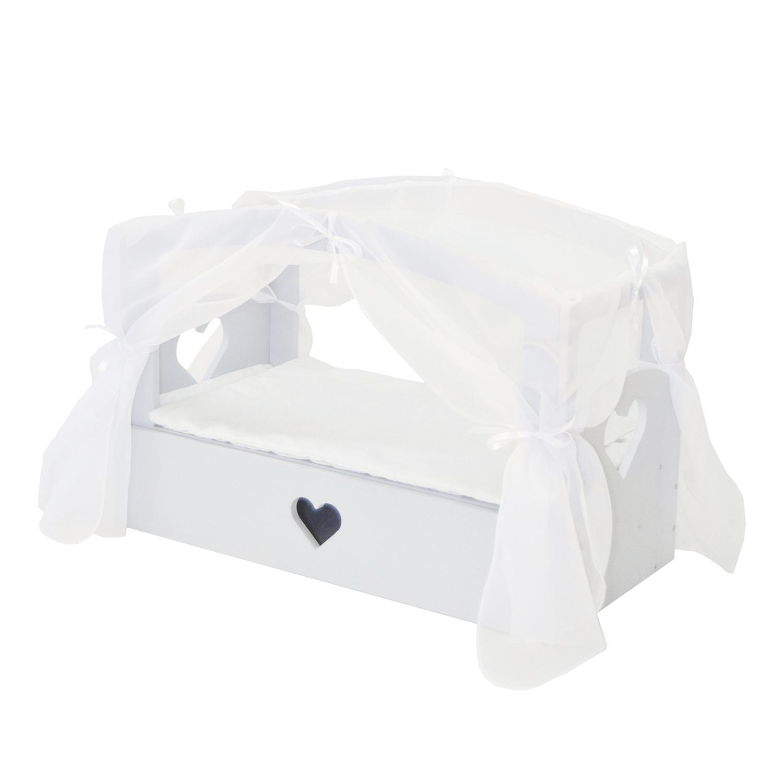 Купить Кроватка с бельевым ящиком Серии Любимая кукла Мини, цвет Дрим, Paremo