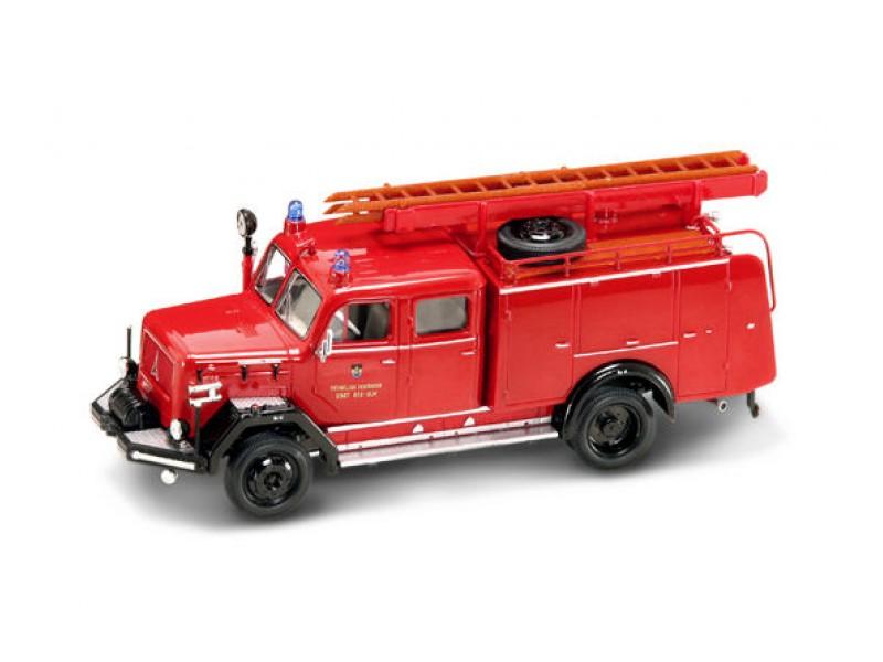 Модель пожарного автомобиля Magirus-Deutz 150D, образца 1964 года, масштаб 1/43Пожарная техника, машины<br>Модель пожарного автомобиля Magirus-Deutz 150D, образца 1964 года, масштаб 1/43<br>