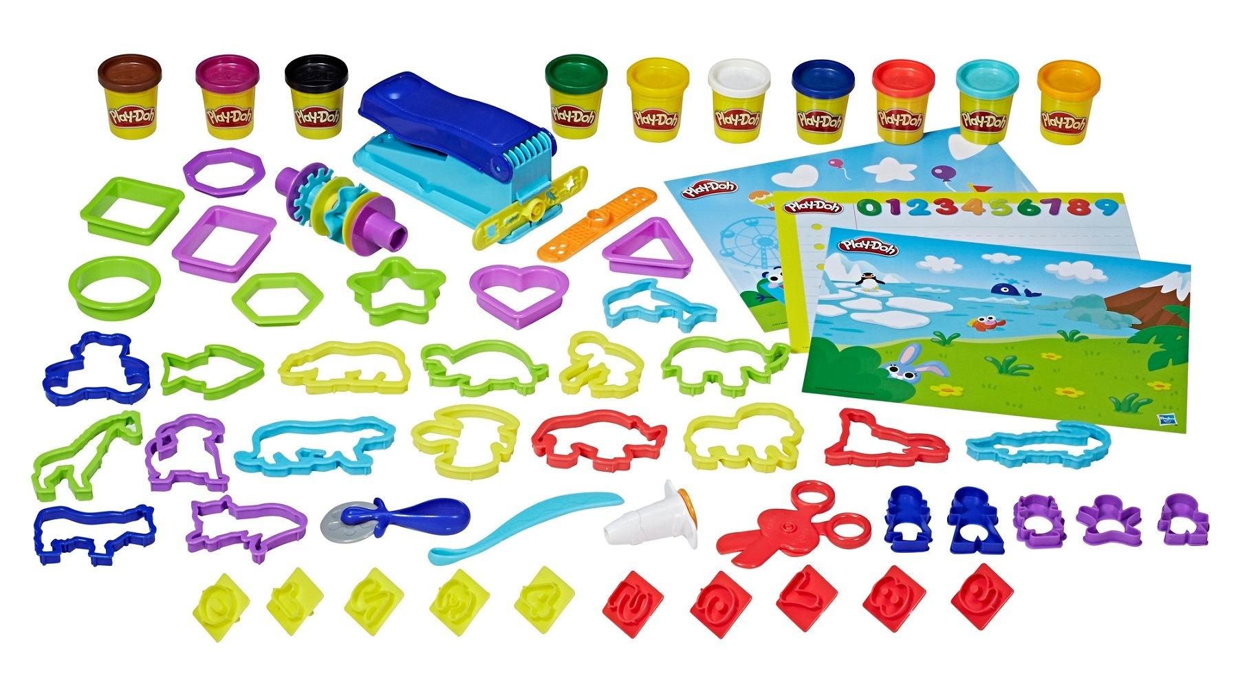 Набор для обучения дошкольников Play-Doh Hasbro