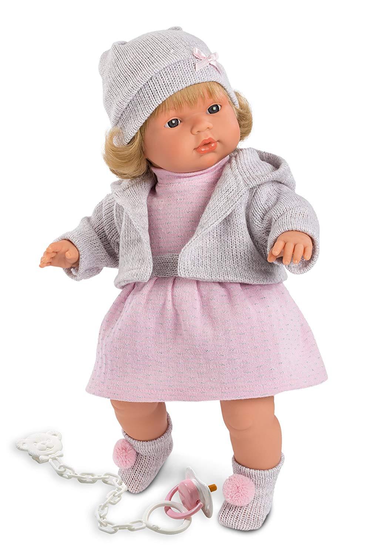 Купить Интерактивная кукла Лола 38 см., со звуком, Llorens Juan