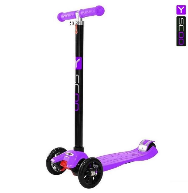 Самокат Y-Scoo RT Maxi Simple A20, фиолетовыйТрехколесные самокаты<br>Самокат Y-Scoo RT Maxi Simple A20, фиолетовый<br>