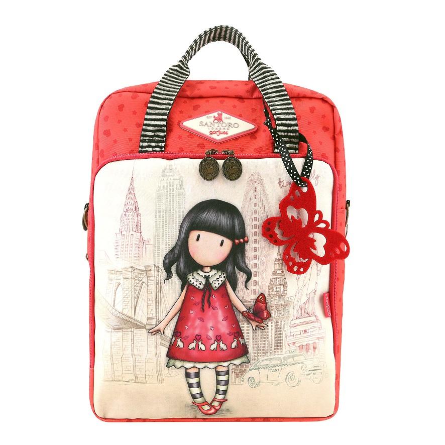 Купить Рюкзак-сумка Cityscape - Time To Fly из серии Gorjuss, Santoro London