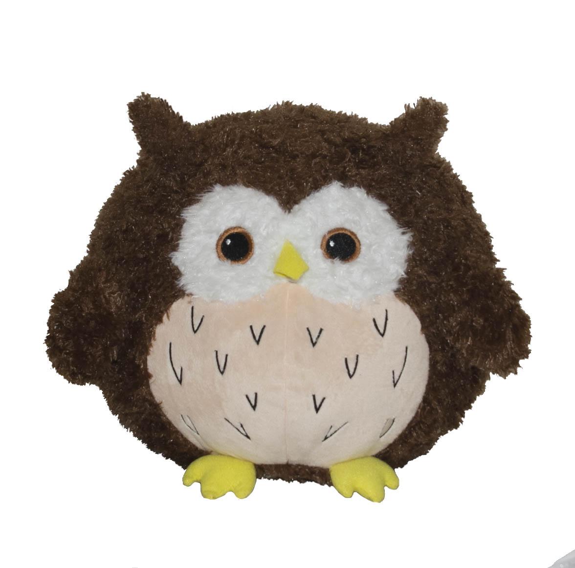 Мягкая игрушка - Сова Букля, 30 смДикие животные<br>Мягкая игрушка - Сова Букля, 30 см<br>