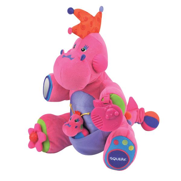 Игрушка Boss розовый - Детские погремушки и подвесные игрушки на кроватку, артикул: 18730