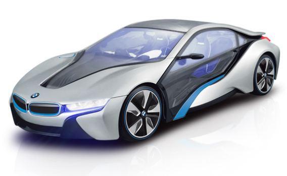 BMW i8 концепт-кар на радиоуправлении - Радиоуправляемые игрушки, артикул: 93947