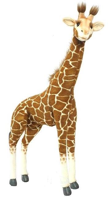 Мягкая игрушка - Жираф стоящий, 70 смДикие животные<br>Мягкая игрушка - Жираф стоящий, 70 см<br>