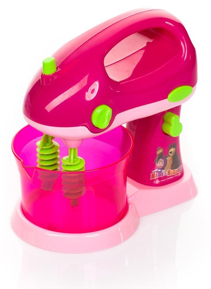 Миксер «Маша и медведь» на батарейках, со светомАксессуары и техника для детской кухни<br>Миксер «Маша и медведь» на батарейках, со светом<br>