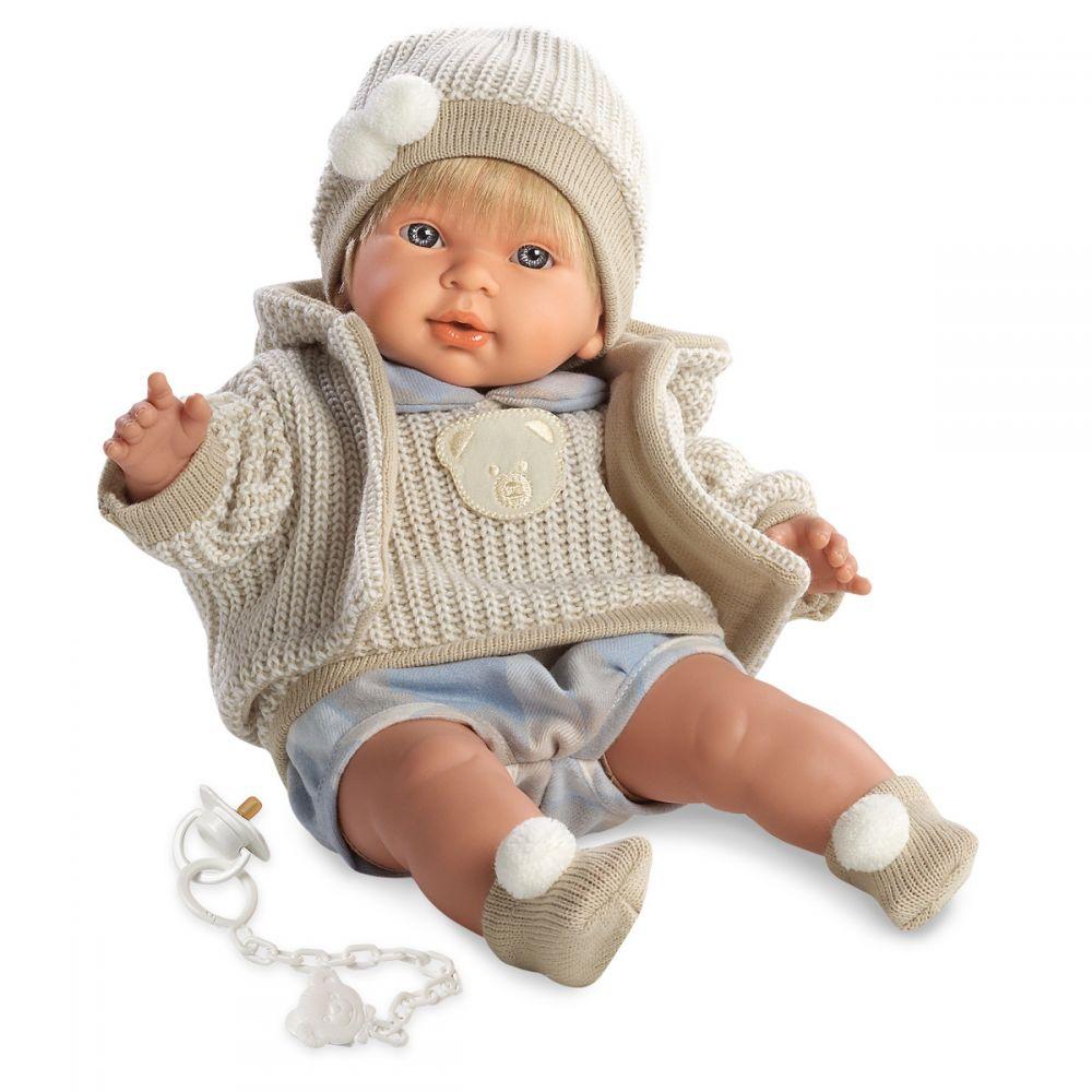 Купить Кукла Альваро в клетчатом костюмчике, 42 см., Llorens Juan
