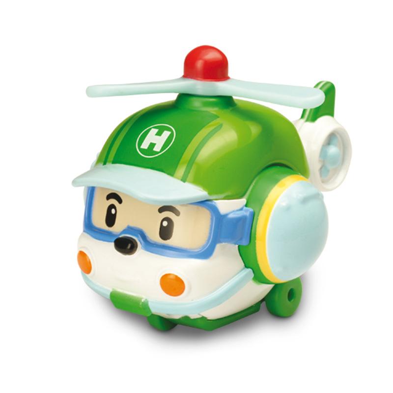 Металлический вертолёт Хэли, 6 см.Robocar Poli. Робокар Поли и его друзья<br>Металлический вертолёт Хэли, 6 см.<br>