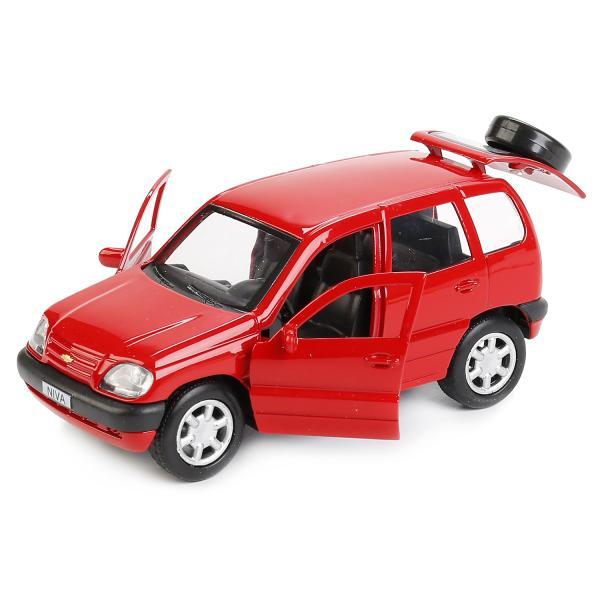 Металлическая инерционная модель - Chevrolet Niva, 12 смChevrolet<br>Металлическая инерционная модель - Chevrolet Niva, 12 см<br>