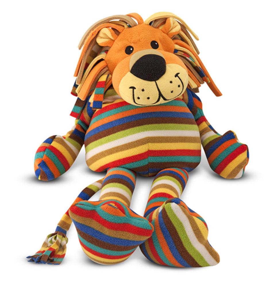 Мягкая игрушка - ЛевДикие животные<br>Мягкая игрушка - Лев<br>