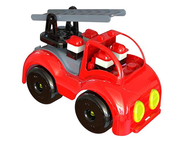 Пожарная машинка для малышей из серии Крепыш, 33 см.Все для песочницы<br>Пожарная машинка для малышей из серии Крепыш, 33 см.<br>