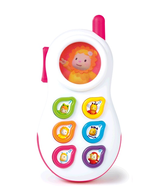 Игрушечный телефон со световыми и звуковыми эффектами - Интерактив для малышей, артикул: 24770