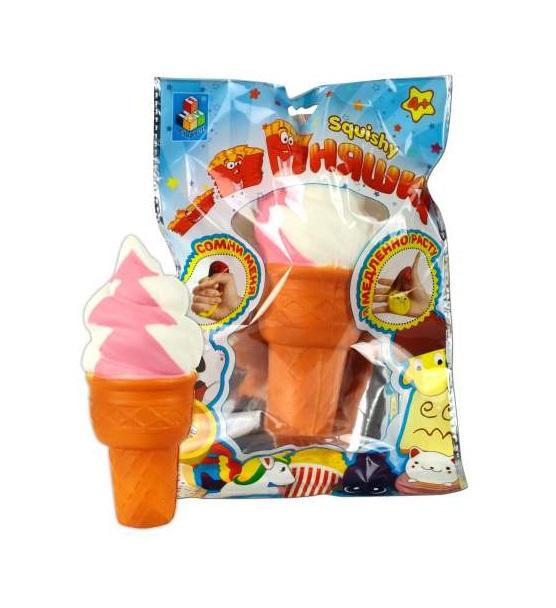 Игрушка-антистресс из серии Мммняшка squishy сквиши – Мороженое фото