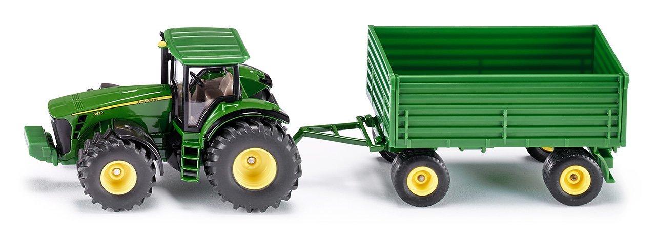 Купить Модель трактора с прицепом, 1:50, Siku