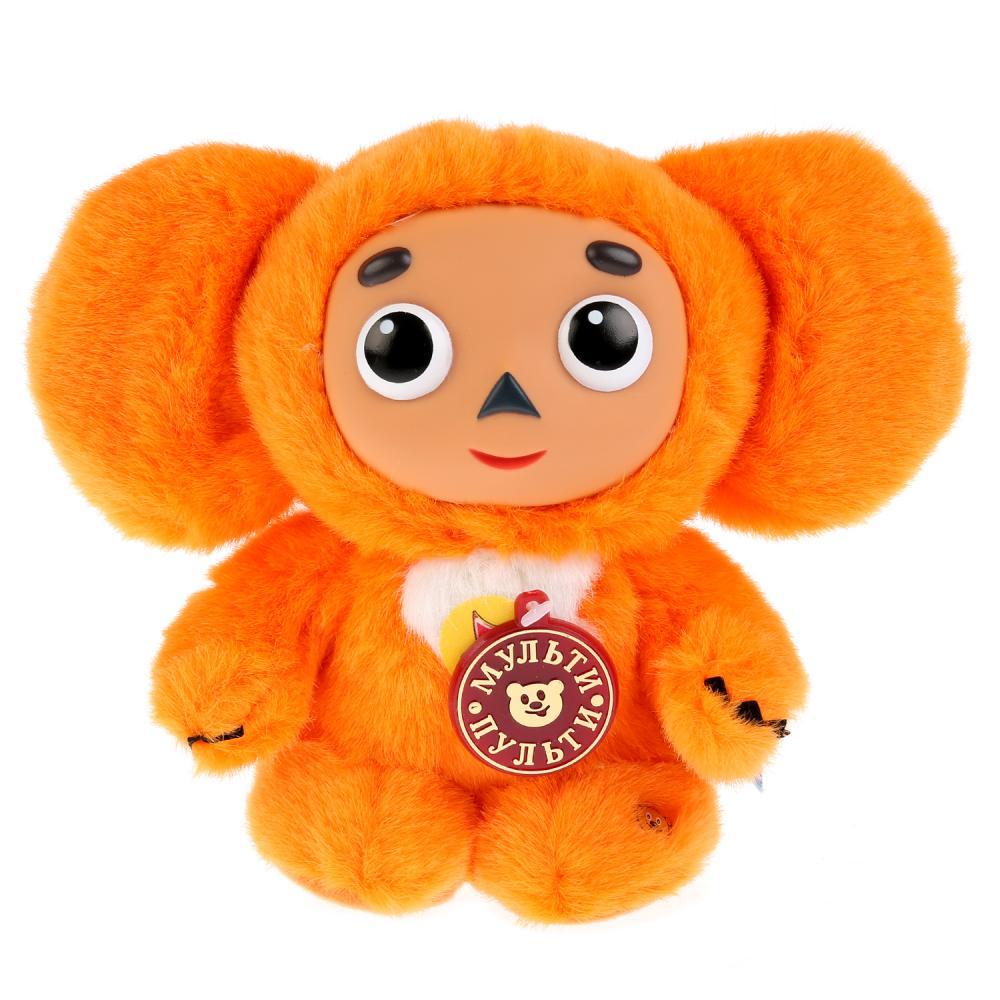 Купить Интерактивная мягкая игрушка - Чебурашка, оранжевый, 17 см, Мульти-Пульти