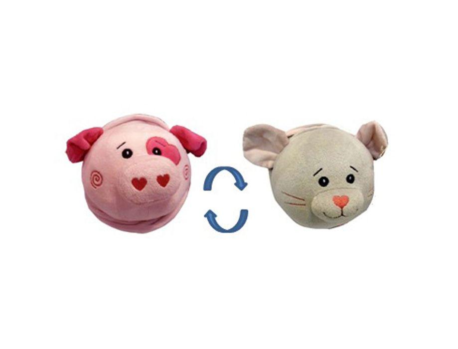 Купить Мягкая игрушка 2 в 1 Свинка – Мышка, 16 см, Играем вместе