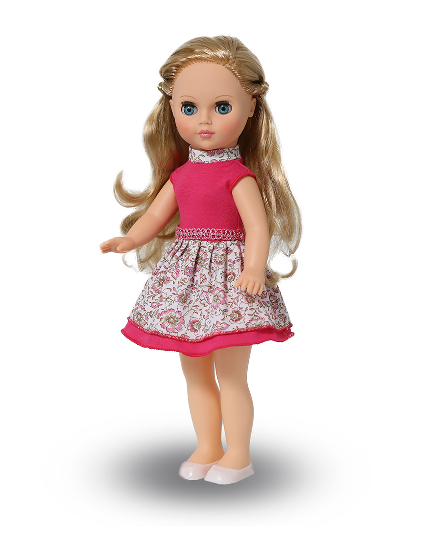 Кукла Мила 10, 38,5 смРусские куклы фабрики Весна<br>Кукла Мила 10, 38,5 см<br>