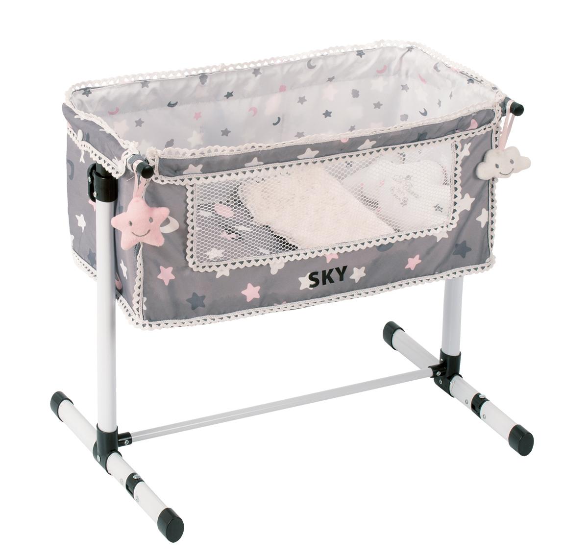 Кроватка для куклы серии Скай, с опускающимся бортиком, 50 см