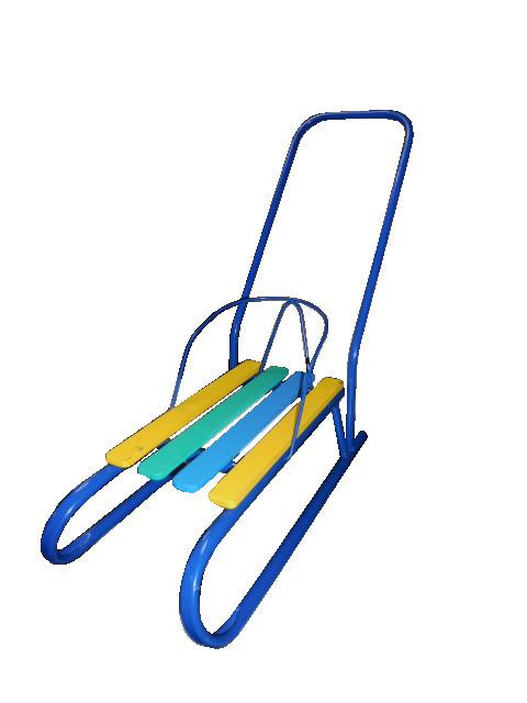 Купить Санки кукольные - Лиза-2, синие, Усть-Люга