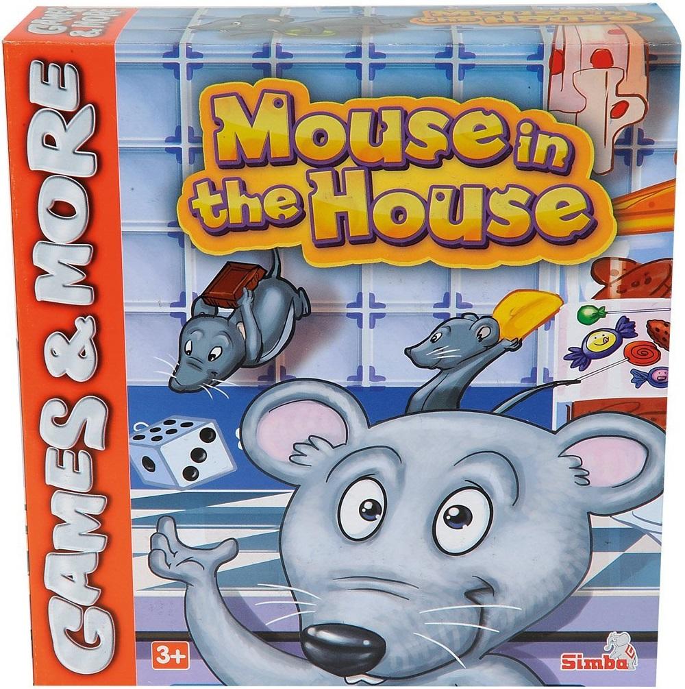 Игра настольная - Мышки в домике от Toyway