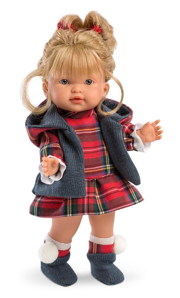 Кукла Валерия 28 смИспанские куклы Llorens Juan, S.L.<br>Кукла Валерия 28 см<br>