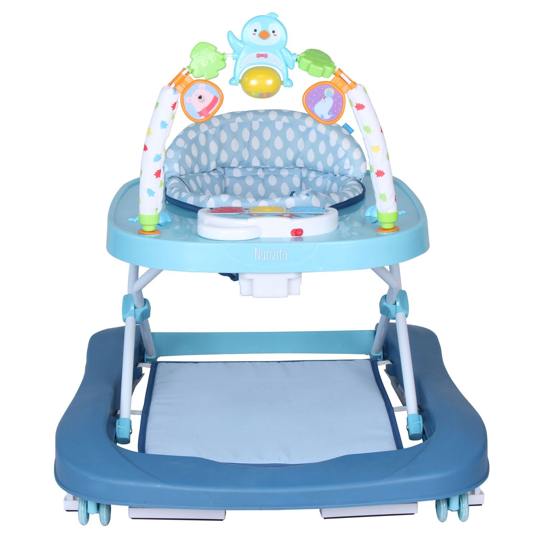 Купить Детские ходунки Nuovita Avvio, цвет artico blu azzuro/синие-голубой