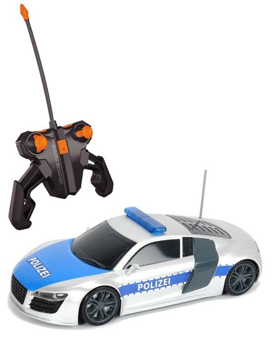 Радиоуправляемый полицейский патруль со звуковыми и световыми эффектамиМашины на р/у<br>Радиоуправляемый полицейский патруль со звуковыми и световыми эффектами<br>