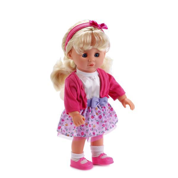 Интерактивная кукла 30 см., русифицированная, поет 5 песенок В. ШаинскогоКуклы Карапуз<br>Интерактивная кукла 30 см., русифицированная, поет 5 песенок В. Шаинского<br>