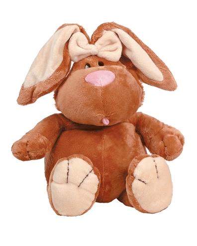 Кролик Коричневый сидячий, 40см - Животные, артикул: 19423