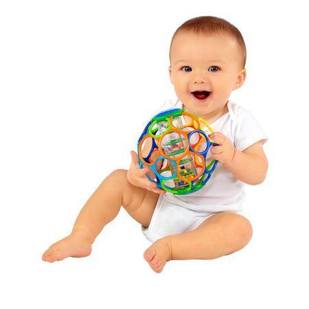 Мячик «Oball с погремушкой» от 0 мес.Детские погремушки и подвесные игрушки на кроватку<br>Мячик «Oball с погремушкой» от 0 мес.<br>