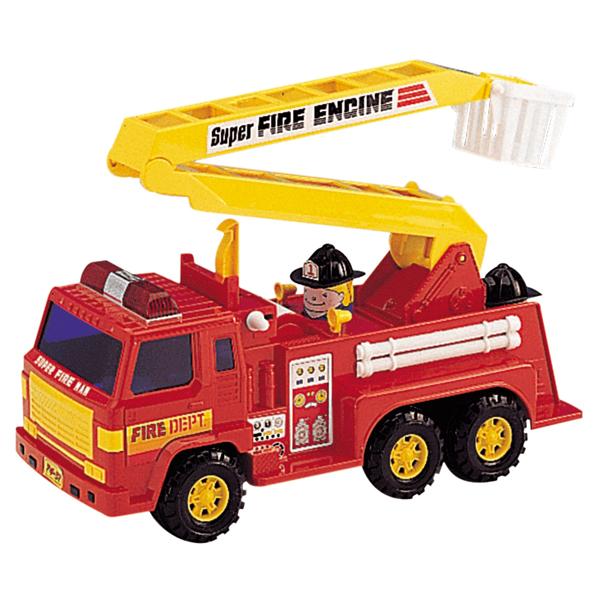 Игрушка машина пожарная - Пожарные машины, автобусы, вертолеты и др. техника, артикул: 84324