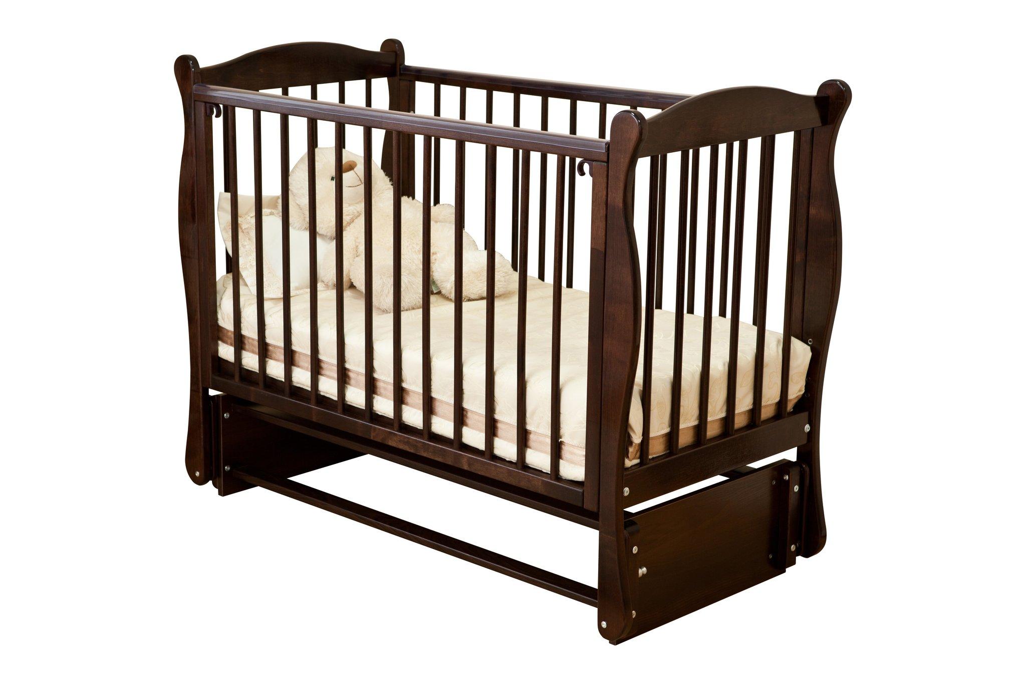 Кровать детская - Noony Wood Simple, шоколадДетские кровати и мягкая мебель<br>Кровать детская - Noony Wood Simple, шоколад<br>