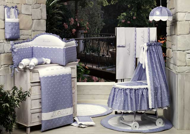Комплект в кроватку из коллекции 4 времени года – НежностьДетское постельное белье<br>Комплект в кроватку из коллекции 4 времени года – Нежность<br>