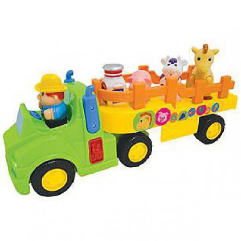 Игрушка развивающая Фермерский тракторМашинки для малышей<br>Игрушка развивающая Фермерский трактор<br>