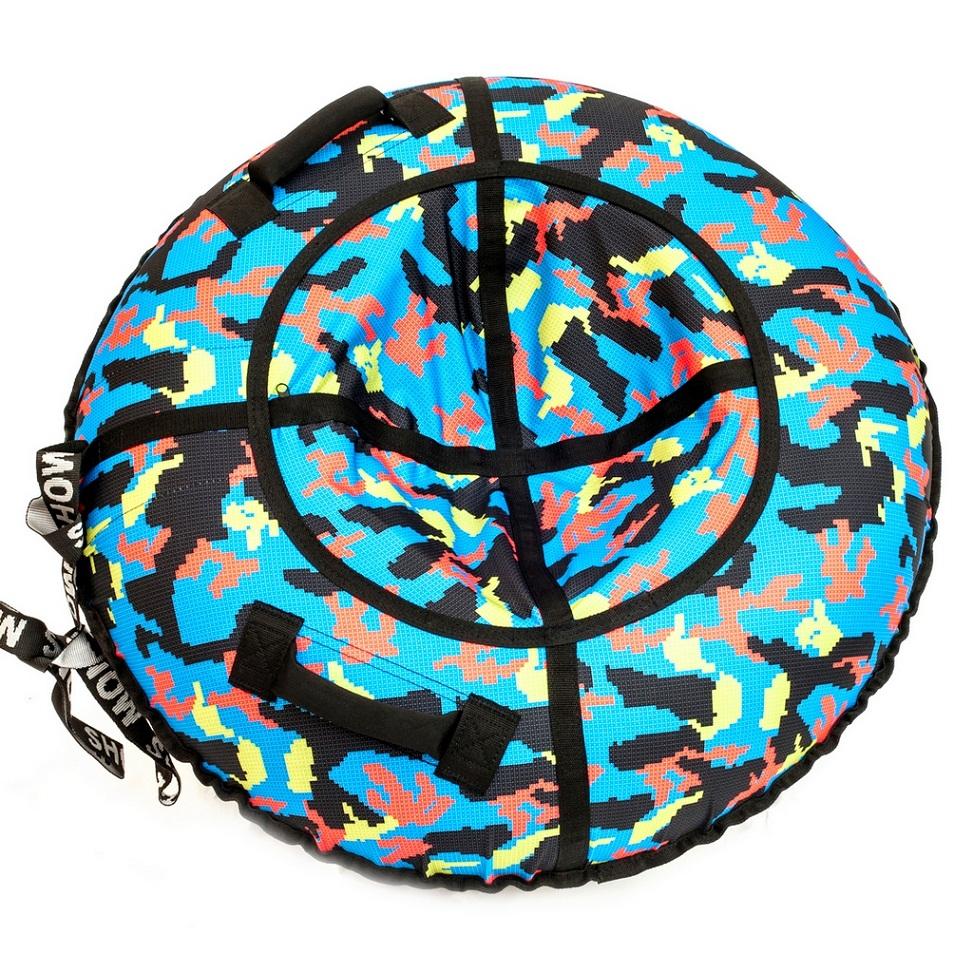 Купить Санки надувные - Тюбинг RT - Лего, диаметр 118 см