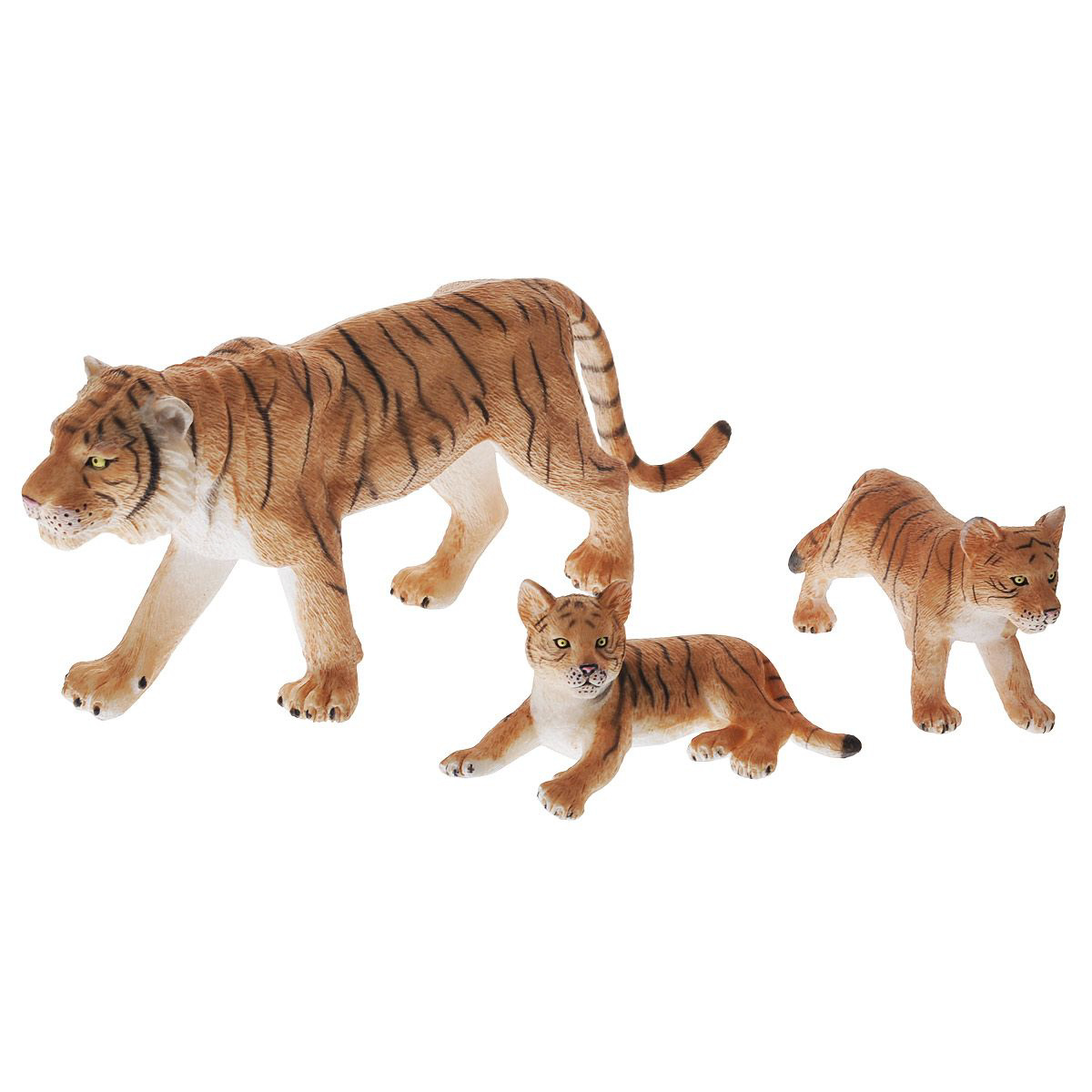 Набор Animal Planet - Тигр с тигрятами, малыйДикая природа (Wildlife)<br>Набор Animal Planet - Тигр с тигрятами, малый<br>