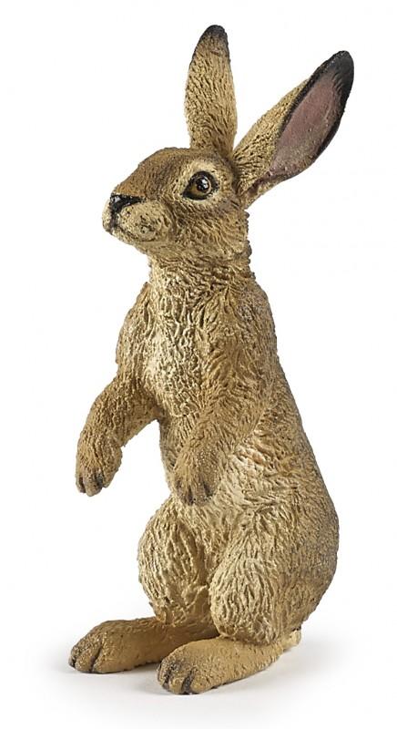 Фигурка - Сидящий заяц, 3 х 2 х 6 см. фото