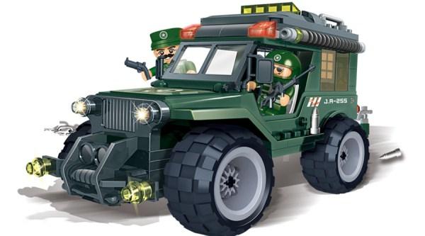 Конструктор Военный джипКонструкторы BANBAO<br>Конструктор Военный джип<br>